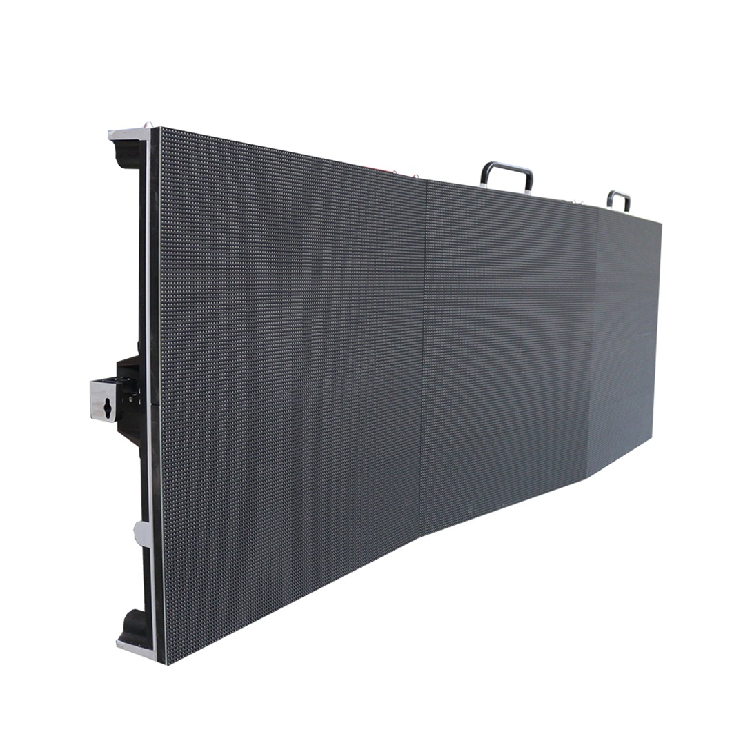 P2.97 Arc Style 500*500mm Led Screen Indoor Curvable Led Display Panel for Rental Stage