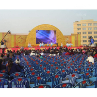 P10 Outdoor Cheap Solution LED Display with 640x640mm Panel for AV Stages And Conferences