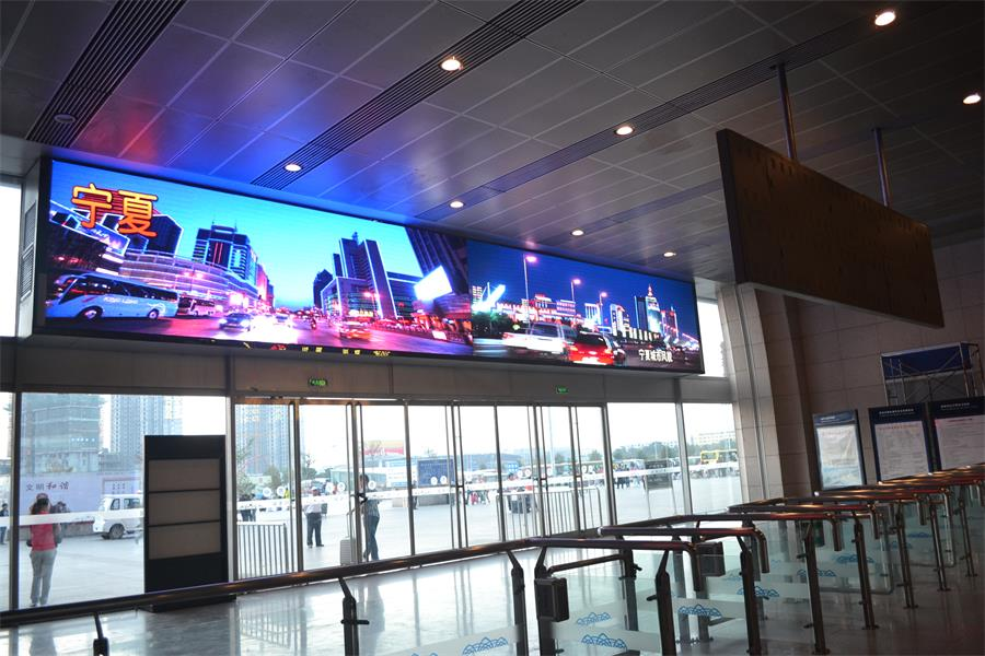 P2.0 512*512mm Small Pitch UHD SMD1415 LED Screen for Airport Hotel Casino