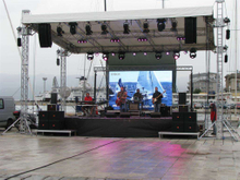 P5.95 High Brightness Outdoor Movable Led Video Screen for Events ( 500*500mm, 500*1000mm)