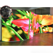 P3.91 Outdoor Indoor Curved Flexible Led Video Display for Rental Show ( 500*1000mm )