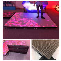 P6.25 Waterproof Led Dance Floor Tile Display for Wedding Stage Party Disco DJ Night Club