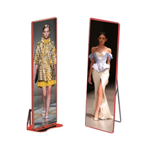 P2.57 Indoor HD Mirror Advertising Led Display Screen for Clothes Store Display