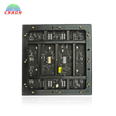 P6 SMD3528 RGB 192mmx192mm indoor LED display module with 1/8 , 1/16 scan for high refresh , high brightness led video wall