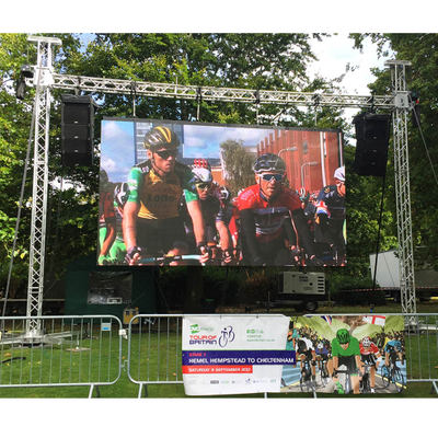 P6 SMD2727 Nationstar led 5500 nits high brightness stage outdoor LED display screen for events