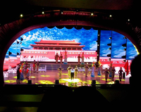 P4 512x512mm panel size LED Video wall Indoor for stages conference Music show